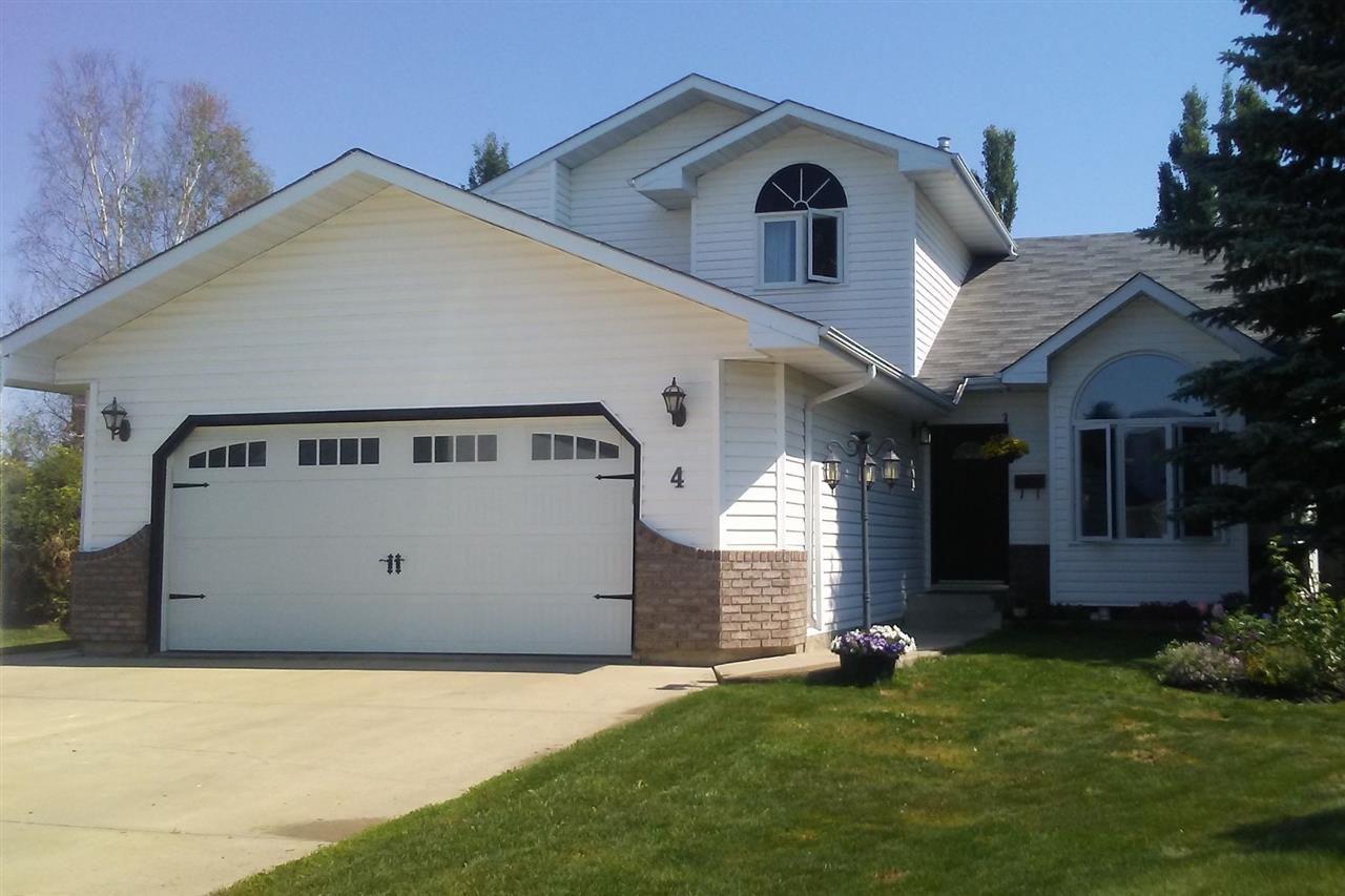 Main Photo: 4 Heartwood Close: Stony Plain House for sale : MLS®# E4148062