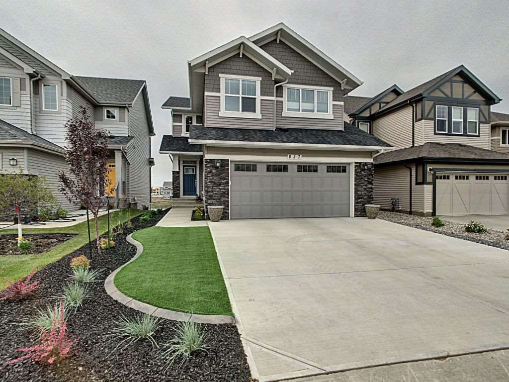Main Photo: 827 Eagleson Link in Edmonton: Zone 57 House for sale : MLS®# E4163933
