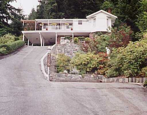 Main Photo: 716 Maurelle Court in North Vancouver: Canyon Heights House  : MLS®# V511456