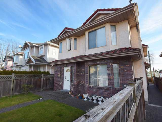 Main Photo: 8492 CARTIER ST in Vancouver: Marpole House 1/2 Duplex for sale (Vancouver West)  : MLS®# V1049017