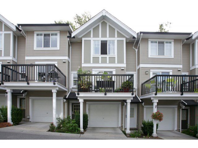 "Main Photo: 76 20176 68 Avenue in Langley: Willoughby Heights Townhouse for sale in ""Steeplechase"" : MLS®# F1450205"