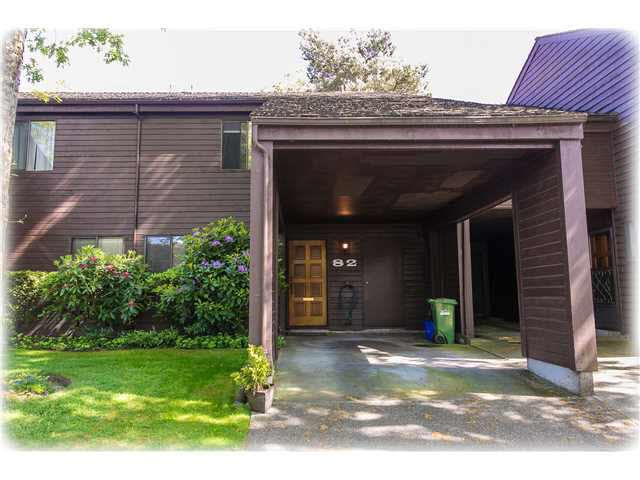 """Main Photo: 82 6880 LUCAS Road in Richmond: Woodwards Townhouse for sale in """"Timberwood Village"""" : MLS®# V1142870"""
