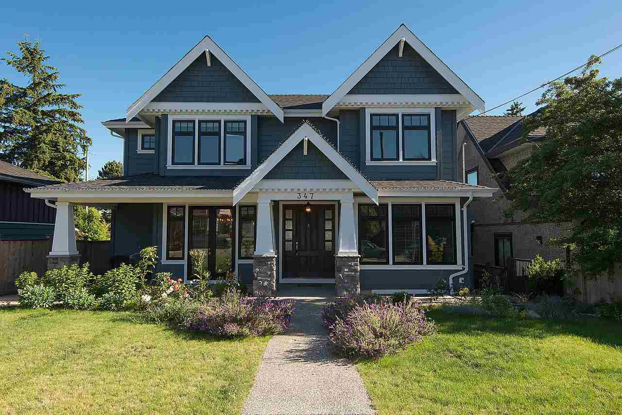 Main Photo: 347 E 14TH Street in North Vancouver: Central Lonsdale House for sale : MLS®# R2077604