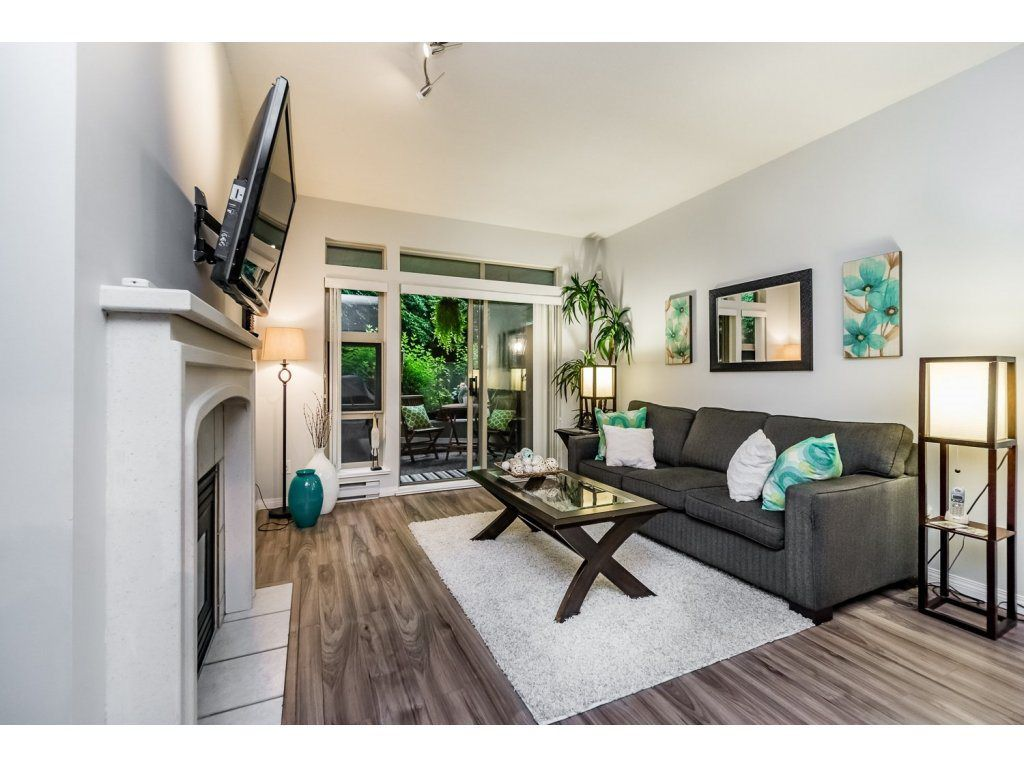 """Main Photo: 101A 301 MAUDE Road in Port Moody: North Shore Pt Moody Condo for sale in """"HERITAGE GRAND"""" : MLS®# R2082721"""