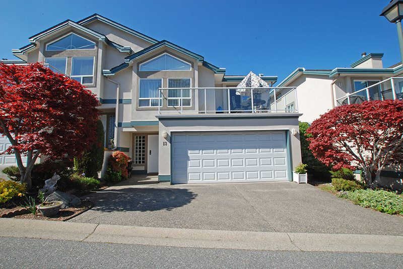 Main Photo: 13 8590 SUNRISE DRIVE in : Chilliwack Mountain Townhouse for sale : MLS®# R2055387