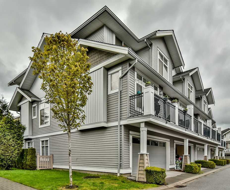 "Main Photo: 1 19330 69 Avenue in Surrey: Clayton Townhouse for sale in ""MONTEBELLO"" (Cloverdale)  : MLS®# R2161850"