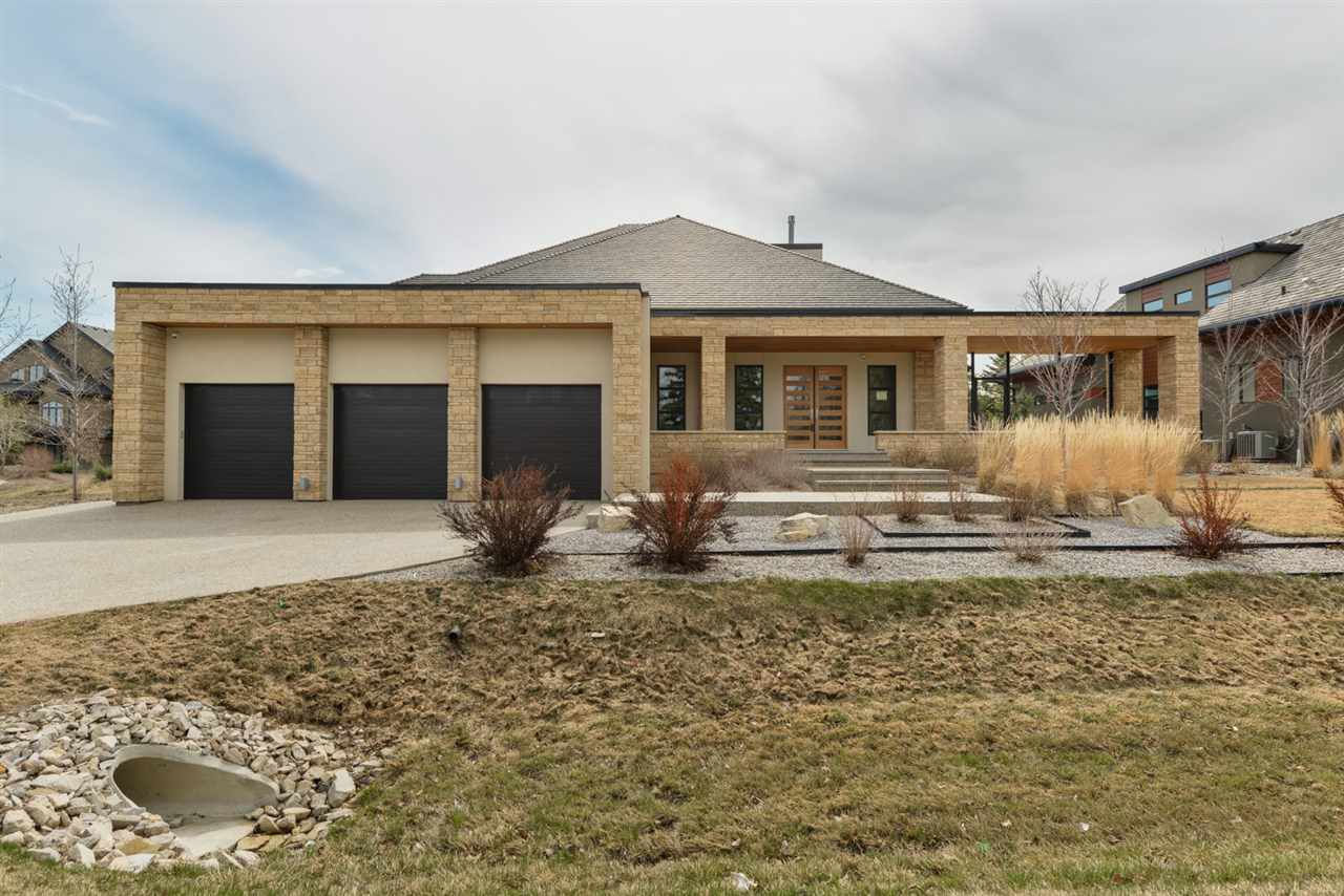 Main Photo: 247 WINDERMERE Drive in Edmonton: Zone 56 House for sale : MLS®# E4096286