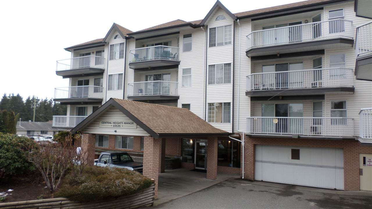 "Main Photo: 117 33535 KING Road in Abbotsford: Poplar Condo for sale in ""CENTRAL HEIGHTS MANOR"" : MLS®# R2242945"