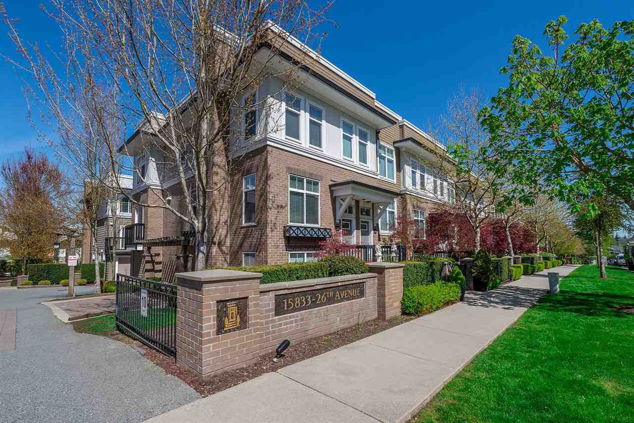 """Main Photo: 30 15833 26 Avenue in Surrey: Grandview Surrey Townhouse for sale in """"Brownstones"""" (South Surrey White Rock)  : MLS®# R2260787"""