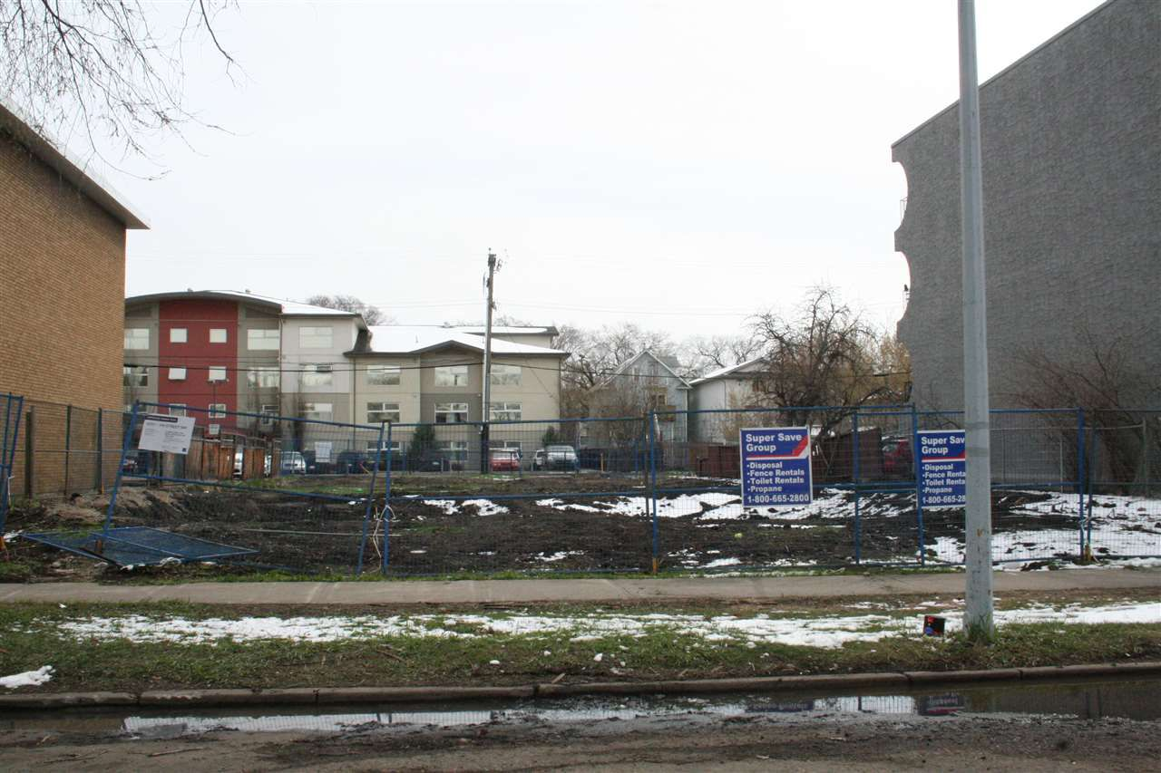 Main Photo: 10725 104 Street in Edmonton: Zone 08 Vacant Lot for sale : MLS®# E4154604