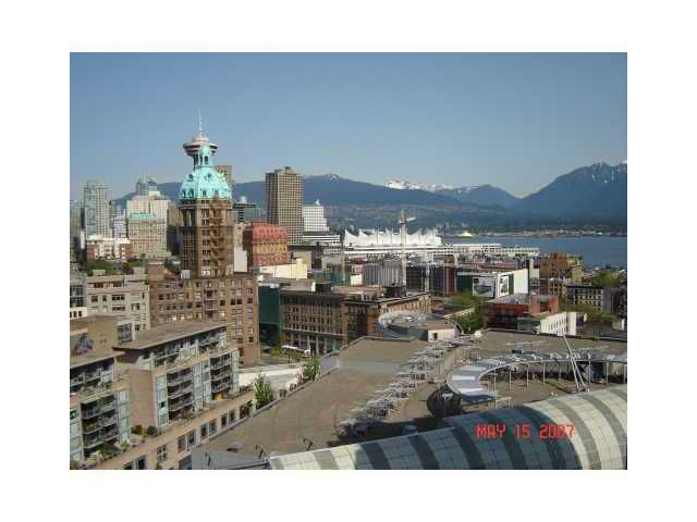 "Main Photo: 2206 58 KEEFER Place in Vancouver: Downtown VW Condo for sale in ""FRENZEI-DOWNTOWN"" (Vancouver West)  : MLS®# V896555"