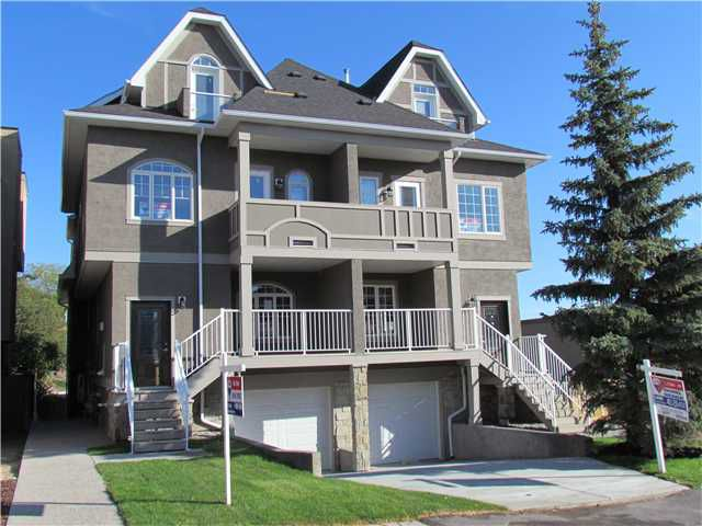 Main Photo: 1 2020 27 Avenue SW in Calgary: South Calgary Townhouse for sale : MLS®# C3493042