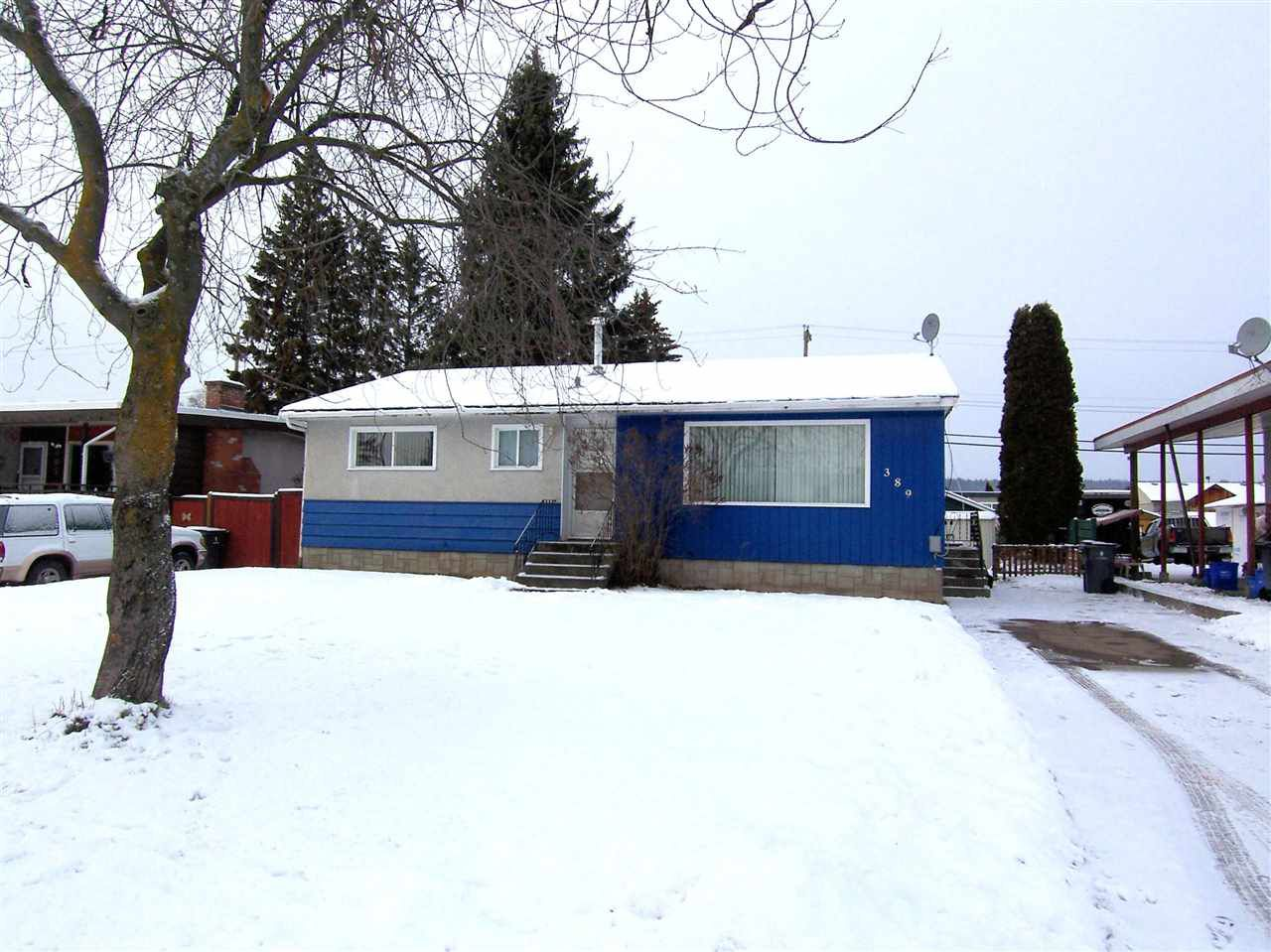 """Main Photo: 389 S NICHOLSON Street in Prince George: Quinson House for sale in """"QUINSON SUB"""" (PG City West (Zone 71))  : MLS®# R2020472"""