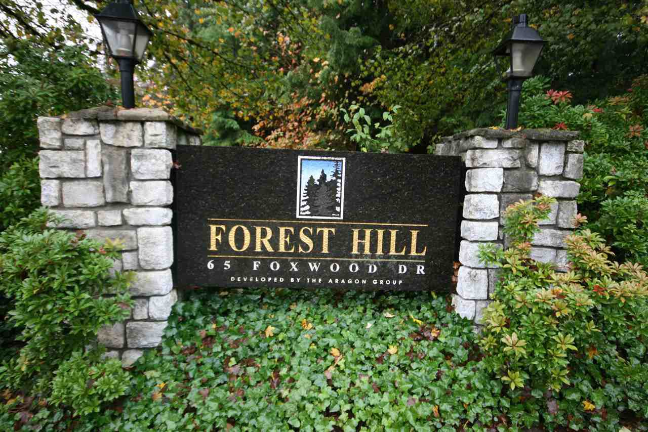"Main Photo: 11 65 FOXWOOD Drive in Port Moody: Heritage Mountain Condo for sale in ""FOREST HILL"" : MLS®# R2028375"