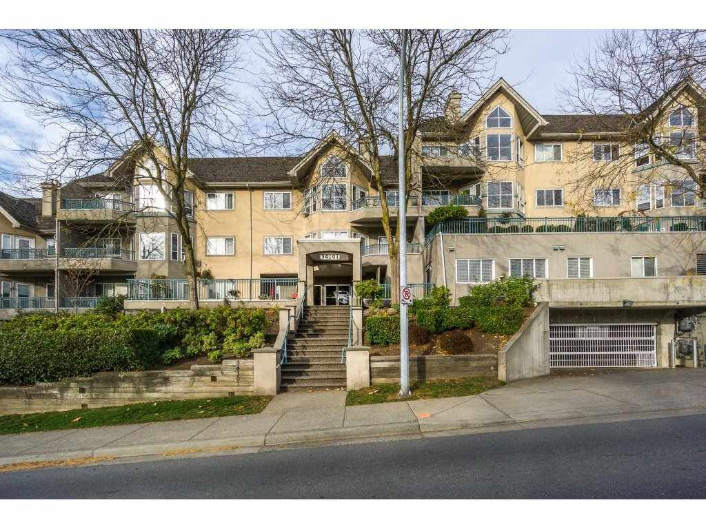 "Main Photo: 207 34101 OLD YALE Road in Abbotsford: Central Abbotsford Condo for sale in ""Yale Terrace"" : MLS®# R2219162"