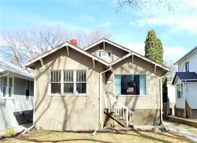 Main Photo: 795 Fleet Avenue in Winnipeg: Residential for sale (1B)  : MLS®# 1805554