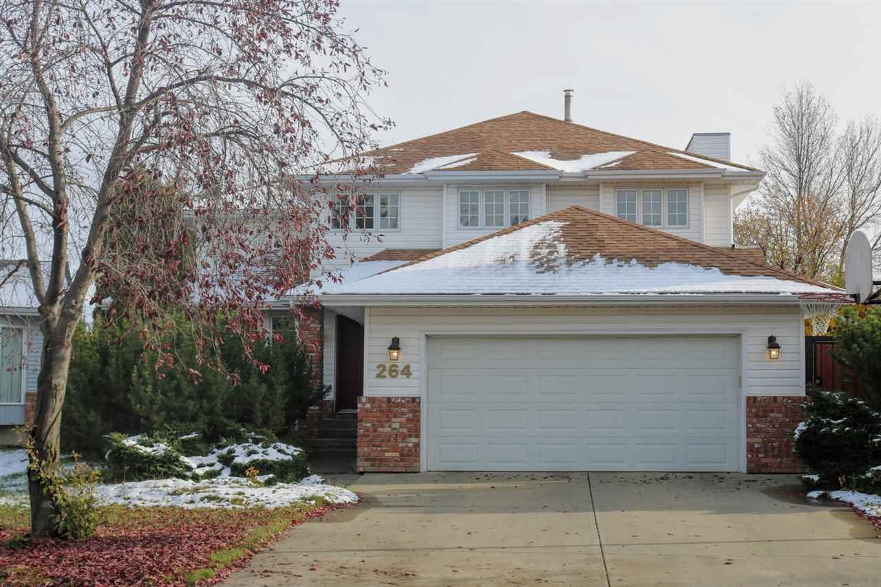 Main Photo: 264 BURTON Road in Edmonton: Zone 14 House for sale : MLS®# E4132727
