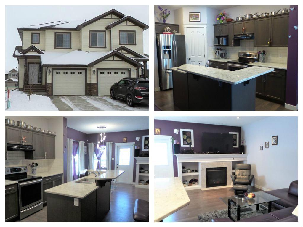 Main Photo: 38 CURRANT Crescent: Fort Saskatchewan House Half Duplex for sale : MLS®# E4138015