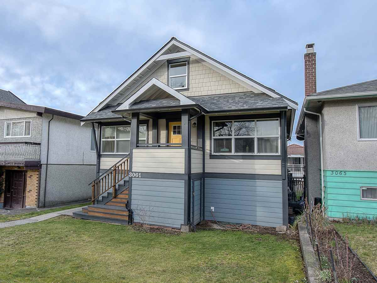 Main Photo: 3061 E 18TH Avenue in Vancouver: Renfrew Heights House for sale (Vancouver East)  : MLS®# R2340047