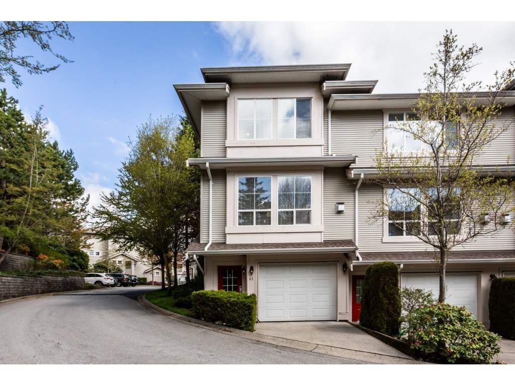 "Main Photo: 61 14952 58 Avenue in Surrey: Sullivan Station Townhouse for sale in ""Highbrae"" : MLS®# R2358658"