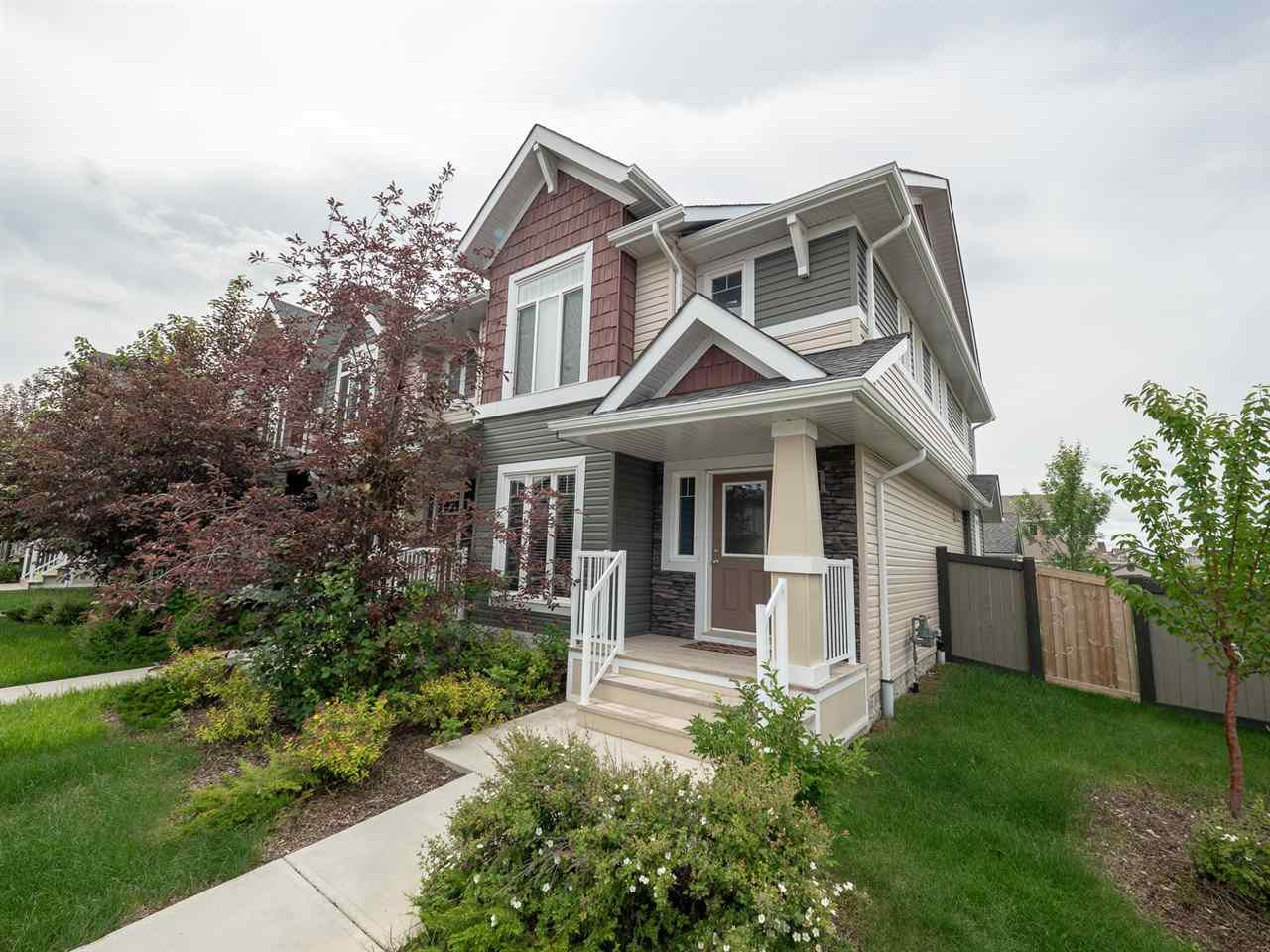 Main Photo: 704 176 Street in Edmonton: Zone 56 Attached Home for sale : MLS®# E4153336