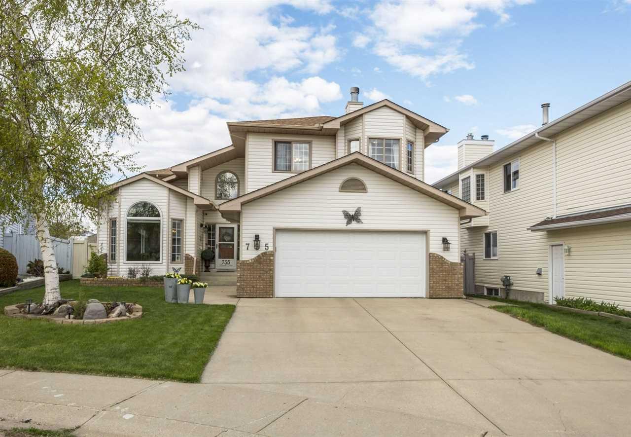 Main Photo: 755 REVELL Crescent in Edmonton: Zone 14 House for sale : MLS®# E4158076