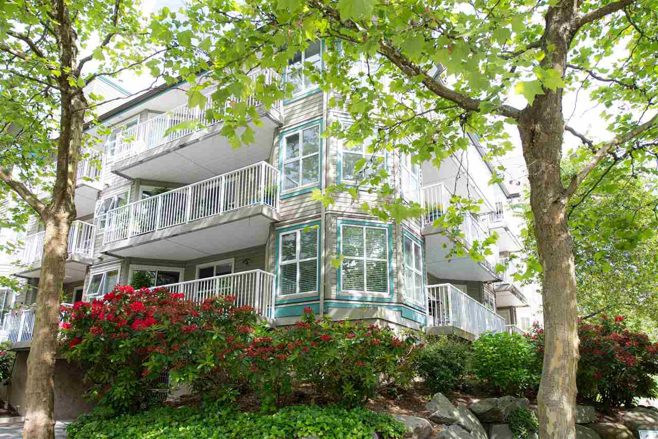 "Main Photo: 205 15120 108 Avenue in Surrey: Guildford Condo for sale in ""Riverpointe"" (North Surrey)  : MLS®# R2378548"