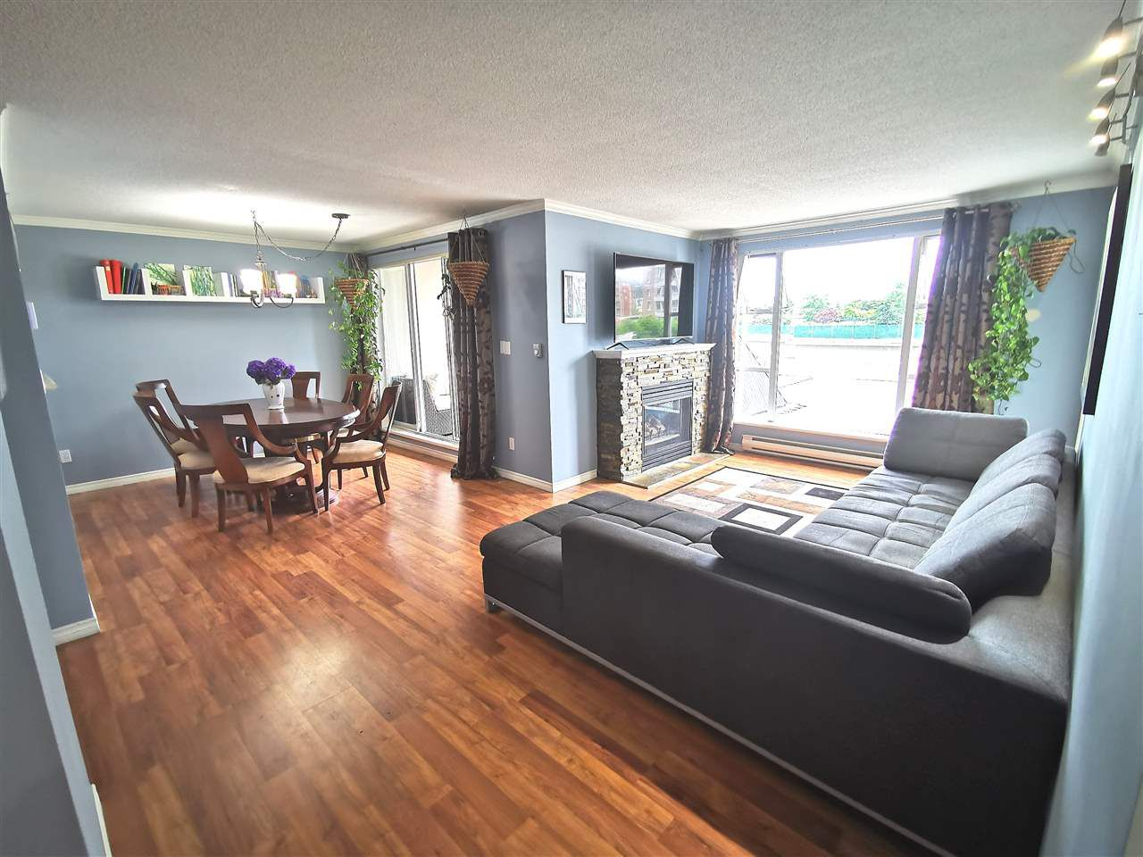 "Main Photo: 301 1180 PINETREE Way in Coquitlam: North Coquitlam Condo for sale in ""FRONTENAC TOWER"" : MLS®# R2386668"