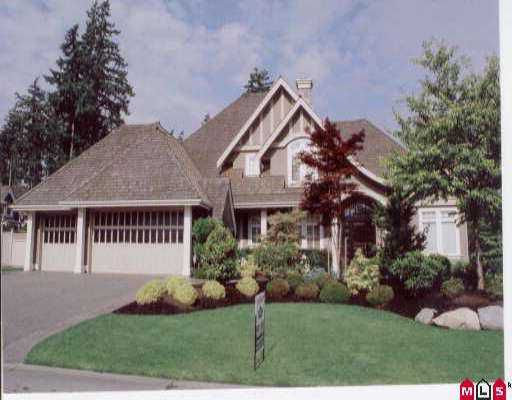 """Main Photo: 2309 133RD ST in White Rock: Elgin Chantrell House for sale in """"BRIDLEWOOD WEST"""" (South Surrey White Rock)  : MLS®# F2613674"""