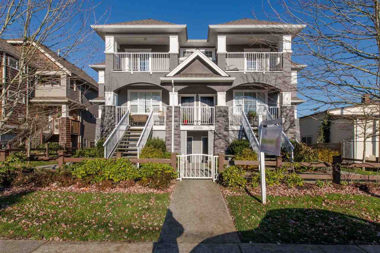 "Main Photo: 4 27295 30TH Avenue in Langley: Aldergrove Langley Townhouse for sale in ""Applegrove"" : MLS®# R2017813"