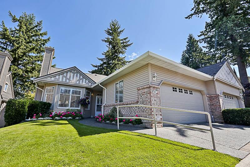 """Main Photo: 67 2533 152 Street in Surrey: Sunnyside Park Surrey Townhouse for sale in """"Bishops Green"""" (South Surrey White Rock)  : MLS®# R2201246"""