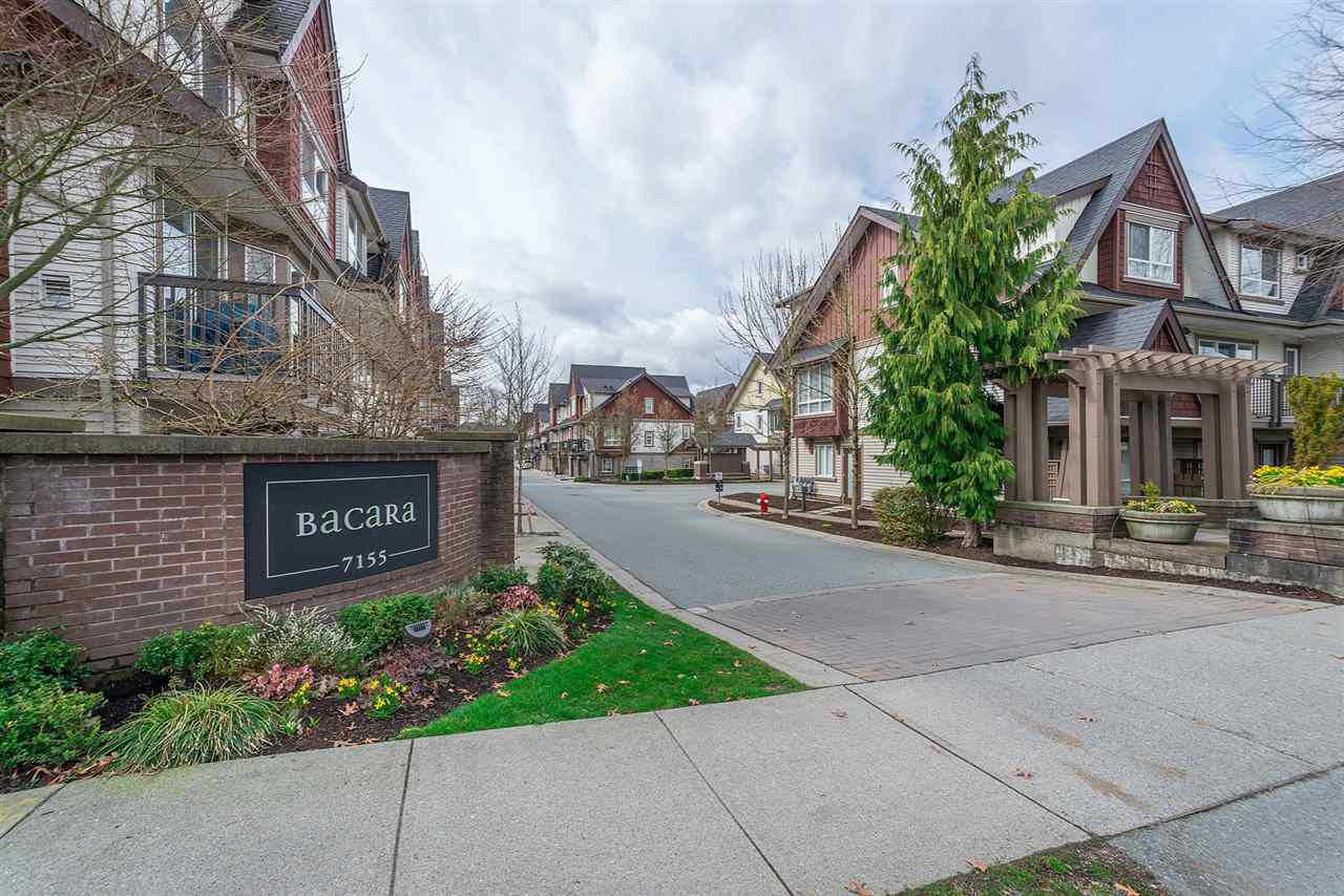 "Main Photo: 72 7155 189 Street in Surrey: Clayton Townhouse for sale in ""BACARA"" (Cloverdale)  : MLS®# R2251764"
