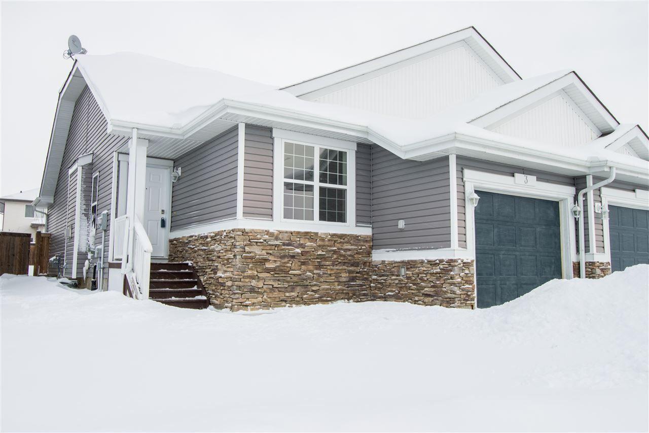 Main Photo: 3 NEVIS Close: St. Albert House Half Duplex for sale : MLS®# E4142709