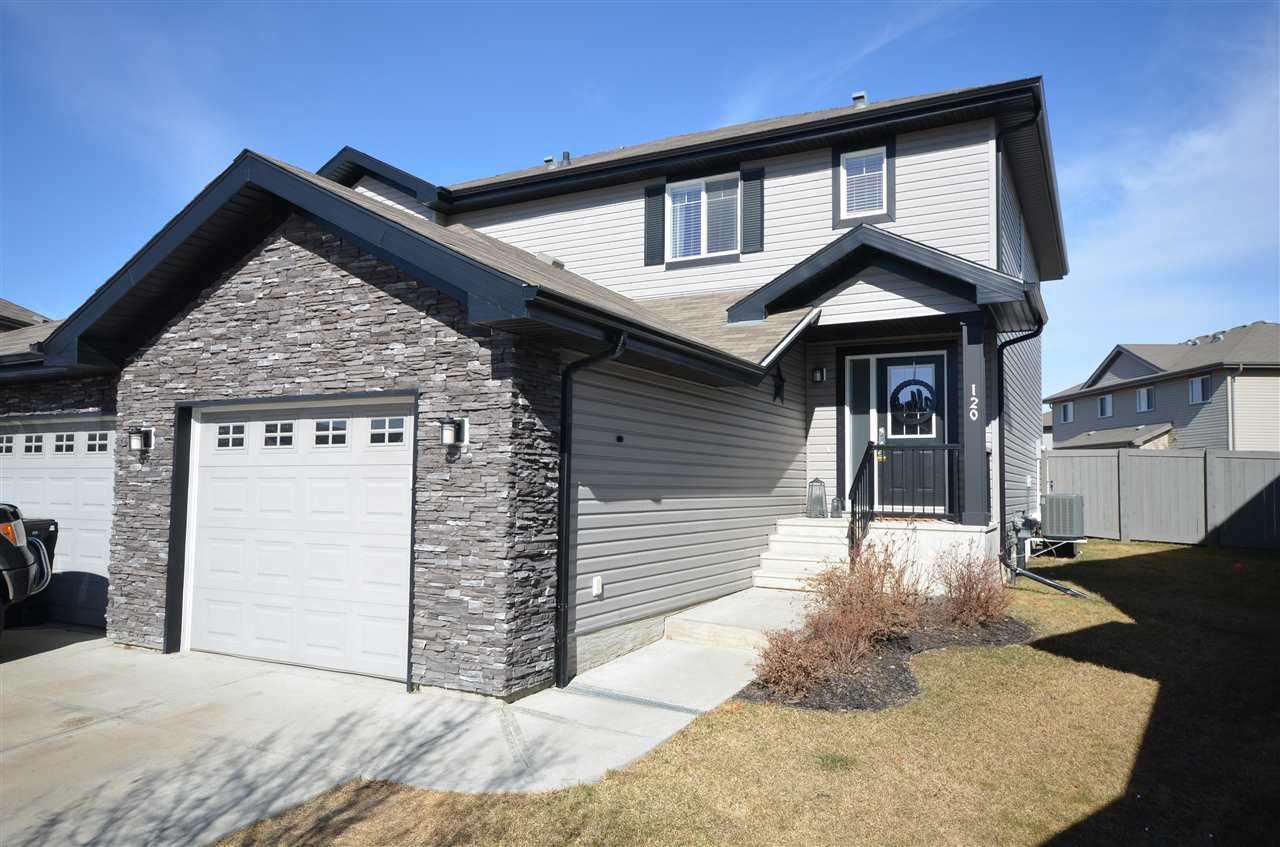 120 Cranston Place Fort Saskatchewan Half Duplex For Sale E4151350