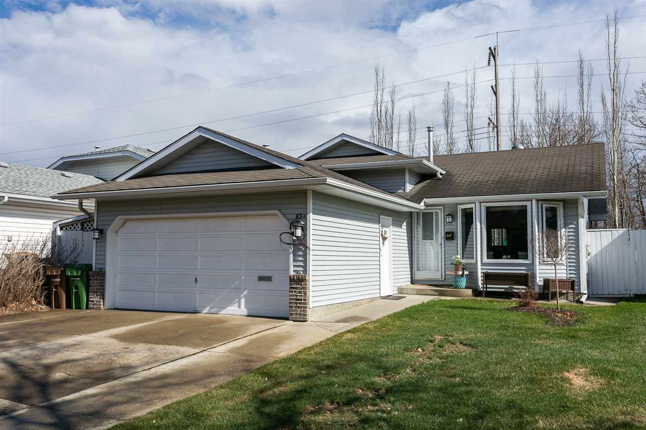 Main Photo: 63 A ARBOR Crescent: St. Albert House for sale : MLS®# E4156069