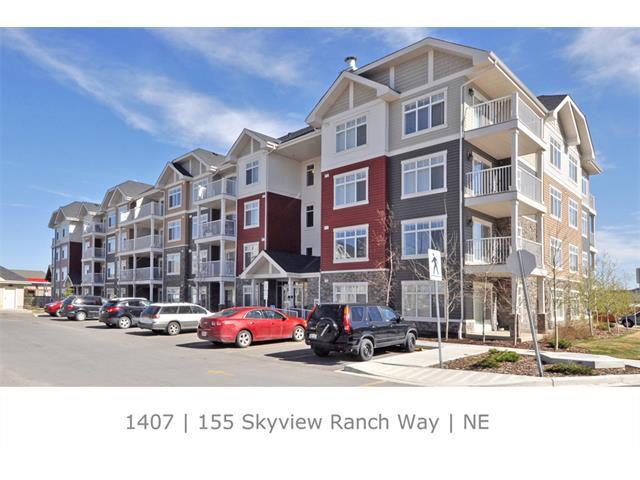 Main Photo: 1407 155 SKYVIEW RANCH Way NE in Calgary: Skyview Ranch Condo for sale : MLS®# C4008677