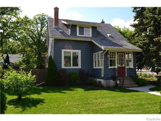 Main Photo: 318 Linwood Street in Winnipeg: St James Residential for sale (West Winnipeg)  : MLS®# 1614080