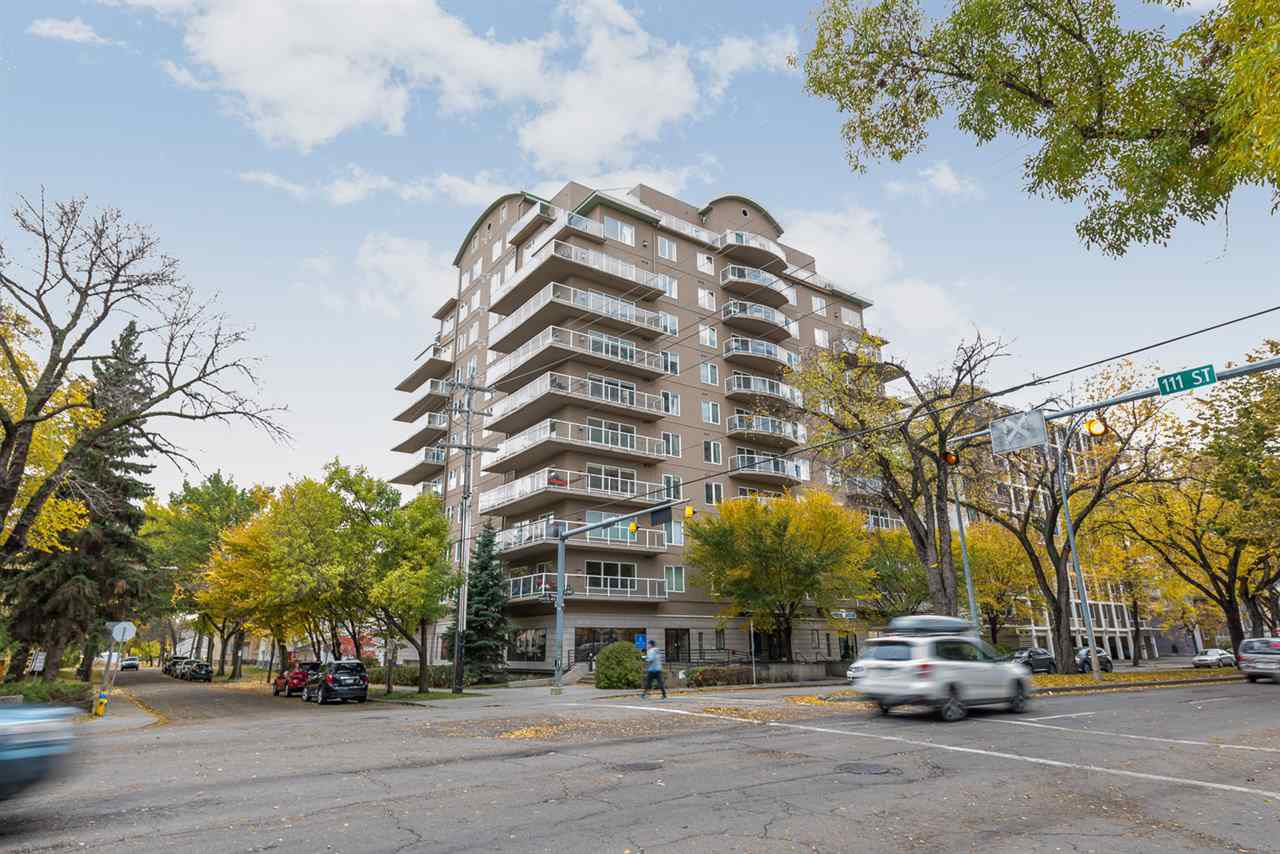 Main Photo: 1001 11111 82 Avenue in Edmonton: Zone 15 Condo for sale : MLS®# E4114136