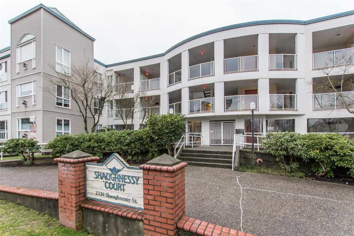 "Main Photo: 304 2339 SHAUGHNESSY Street in Port Coquitlam: Central Pt Coquitlam Condo for sale in ""Shaughnessy Court"" : MLS®# R2328535"
