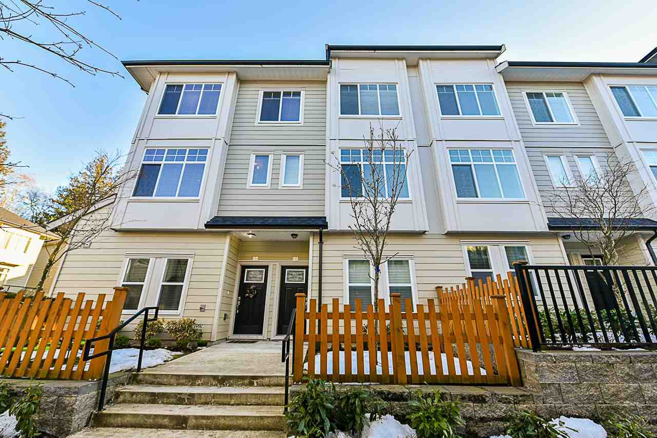 Main Photo: 104 13670 62 Avenue in Surrey: Sullivan Station Townhouse for sale : MLS®# R2343150