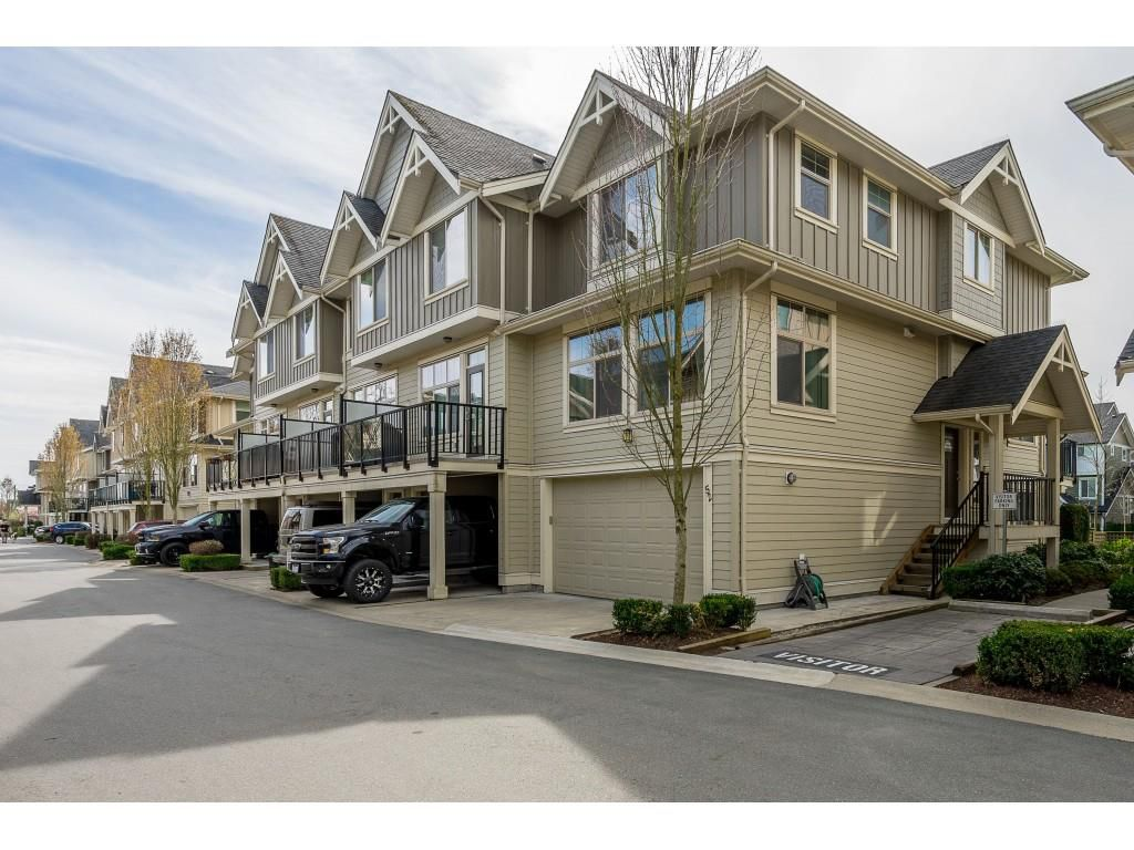 "Main Photo: 52 19525 73 Avenue in Surrey: Clayton Townhouse for sale in ""Up Town 2"" (Cloverdale)  : MLS®# R2354374"
