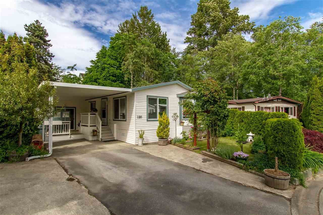 "Main Photo: 120 145 KING EDWARD Street in Coquitlam: Maillardville Manufactured Home for sale in ""MILL CREEK VILLAGE"" : MLS®# R2370266"