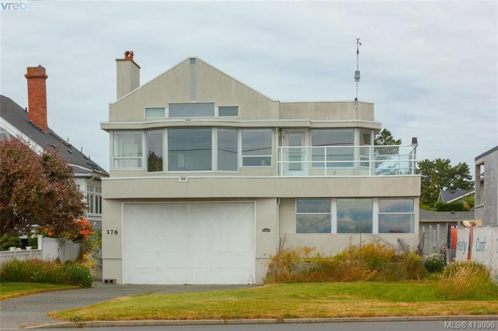 Main Photo: 376 Beach Drive in VICTORIA: OB South Oak Bay Single Family Detached for sale (Oak Bay)  : MLS®# 413096
