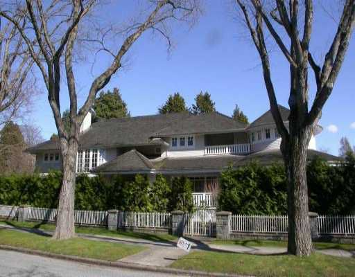 Main Photo: 3998 MARGUERITE ST in Vancouver: Shaughnessy House for sale (Vancouver West)  : MLS®# V528786