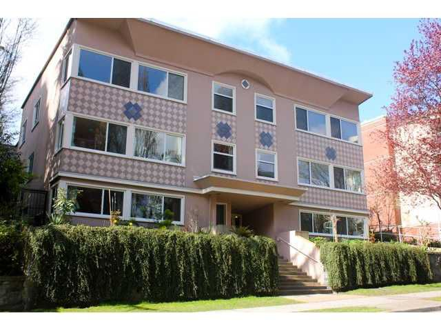 Main Photo: 5 1878 ROBSON Street in Vancouver: West End VW Condo for sale (Vancouver West)  : MLS®# V886754