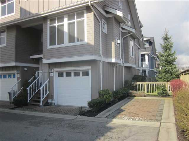 "Main Photo: # 10 935 EWEN AV in New Westminster: Queensborough Condo for sale in ""COOPERS LANDING"" : MLS®# V934740"