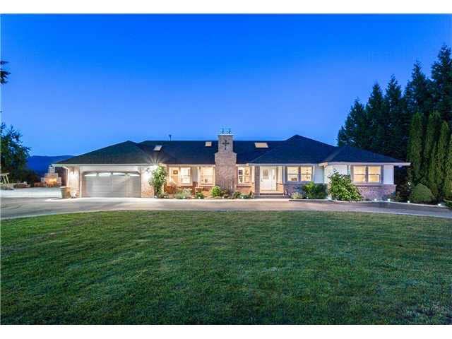 Main Photo: 9950 284TH Street in Maple Ridge: Whonnock House for sale : MLS®# V1130187