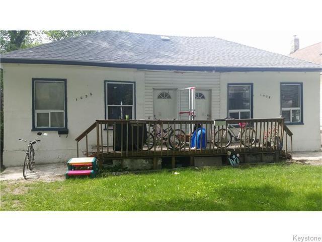 Main Photo: 1026 Ingersoll Street in Winnipeg: West End / Wolseley Residential for sale (West Winnipeg)  : MLS®# 1615403