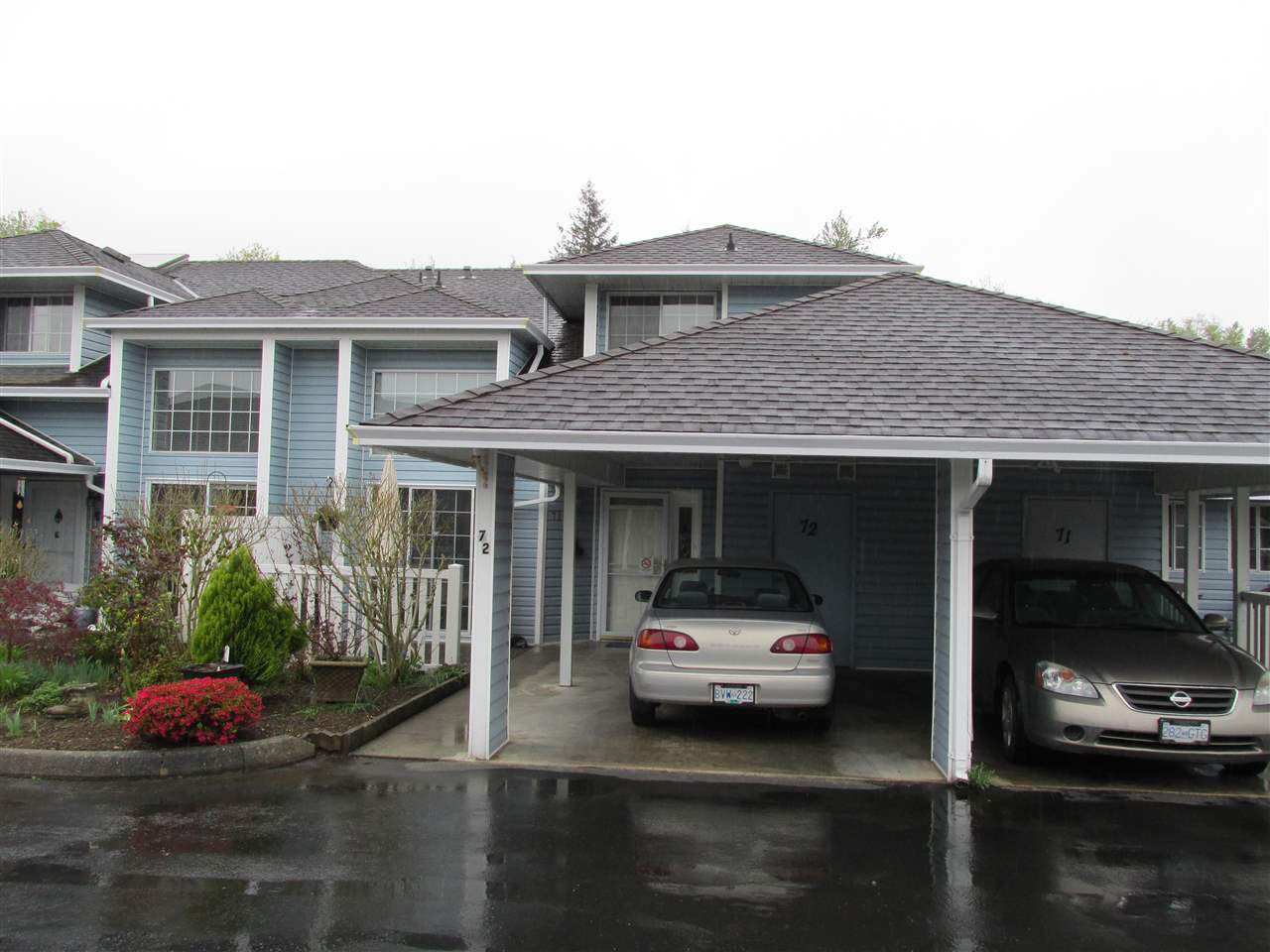 Main Photo: 72 34959 OLD CLAYBURN Road in Abbotsford: Abbotsford East Townhouse for sale : MLS®# R2158382