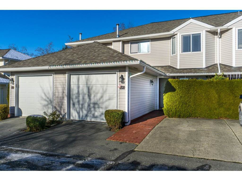 """Main Photo: 72 21928 48 Avenue in Langley: Murrayville Townhouse for sale in """"Murray Glen"""" : MLS®# R2229327"""